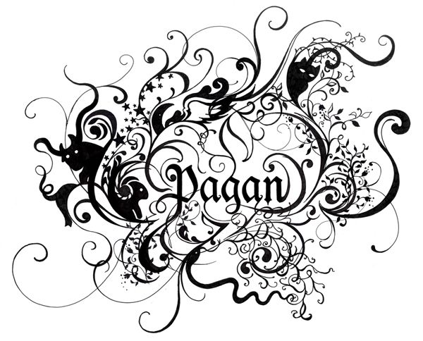 Coloring pages of pagans the colors pagan priesthood lythia paganism