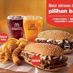 Harga Chicken dan Beef Prosperity Burger McDonalds Indonesia
