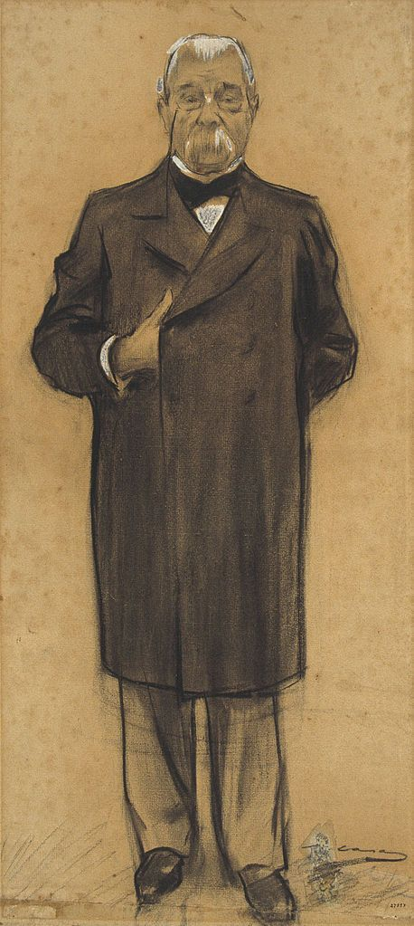 The Athenaeum - Portrait of Manuel Duran i Bas (Ramon Casas y Carbó - )