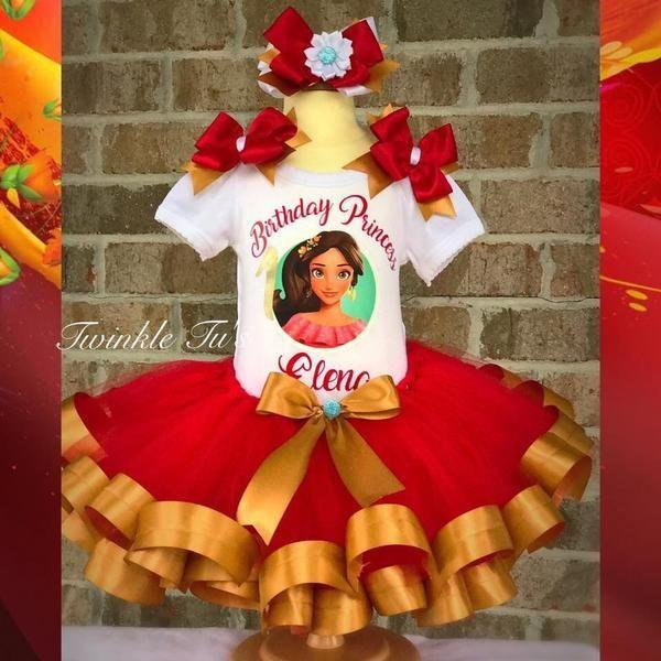 Elena of Avalor Birthday Tutu Outfit – Twinkle Tu's