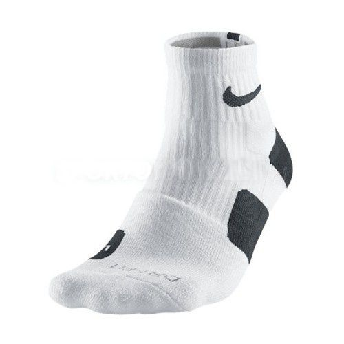 Calcetines Nike Elite 2.0 low Dri-Fit blanco/negro www.basketspirit.com/Calcetines-Baloncesto