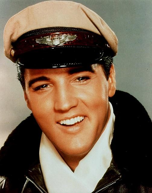 """""""It Happened at the World's Fair"""" - Elvis in his pilot outfit"""