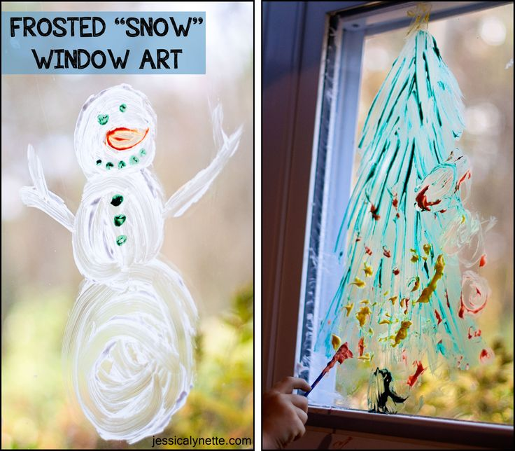 Homemade Snow Makes Fun Window Paint And Is Easy To Clean Mix Cup Of Grated Ivory Soap Water With Food Colouring