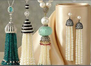 Tassels are fun pieces that move fluidly along with you. The domes atop each…
