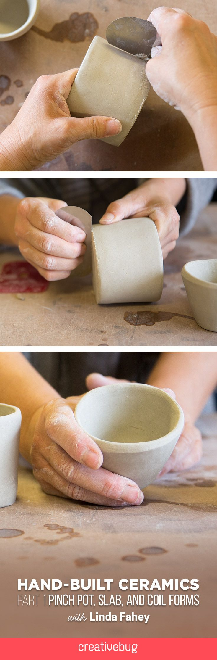 Linda Fahey shows you just how easy it is to get your pottery workspace set up…