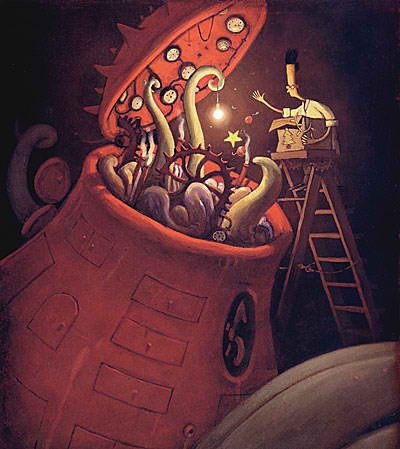 The Lost Thing: A Whimsical Story about Belonging by Shaun Tan A very, very talented man