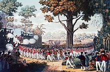 La période de la colonisation des Britanniques