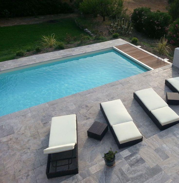 23 best terrasse en pierre naturelle images on pinterest decks swimming pools and natural stones. Black Bedroom Furniture Sets. Home Design Ideas