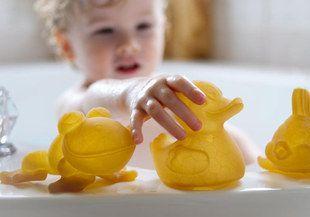Hevea Pond Rubber Bath Toys Set Of Three