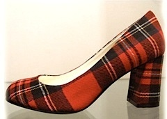 Zelda's Shoe Bar: Bettye Muller Red Tartan Pumps! | OregonLive.com