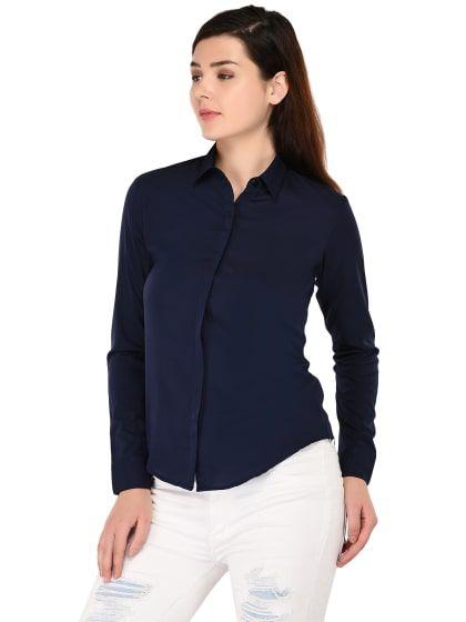 354d45267 Trendy Crepe Shirt