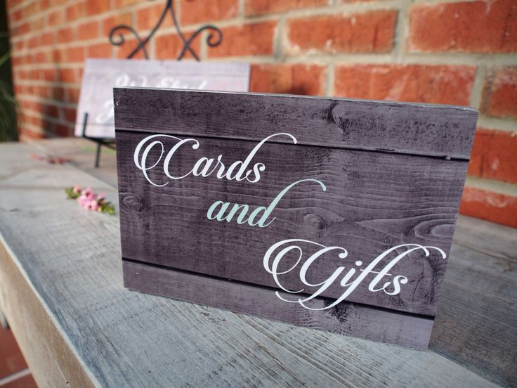 Wedding Gift Signs: 1000+ Ideas About Gift Table Signs On Pinterest