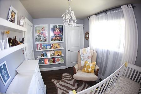 Nursery Shelves