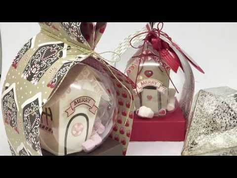 """""""29"""" Sleeps Till Christmas - Heart Box Wrap for Clear Baubles with Stampin' Up! - YouTube"""