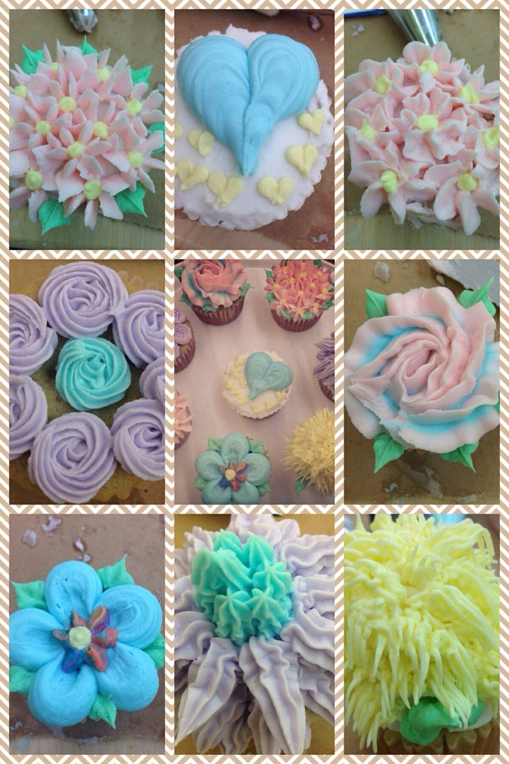 24 best my cake decorating images on pinterest cake decorating wilton course 1 class 3 cupcake decorating pompom shaggy rosette dhlflorist Image collections