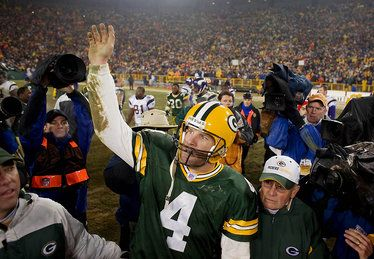 Brett Favre voted into Pro Football Hall of Fame