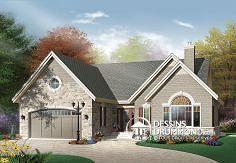 Plan de maison no. W3217 de dessinsdrummond.com