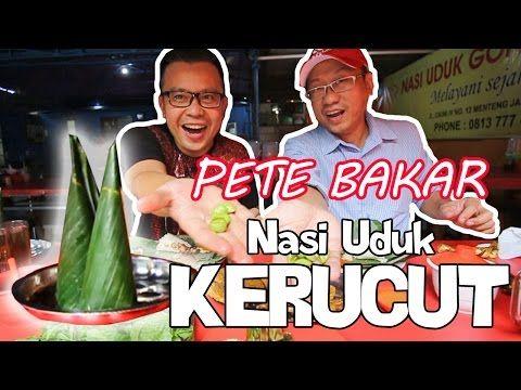 Nasi Uduk Kerucut Gondangdia Pakai Sambal Goreng dan Pete Bakar | Kuliner Jakarta - Beken.id