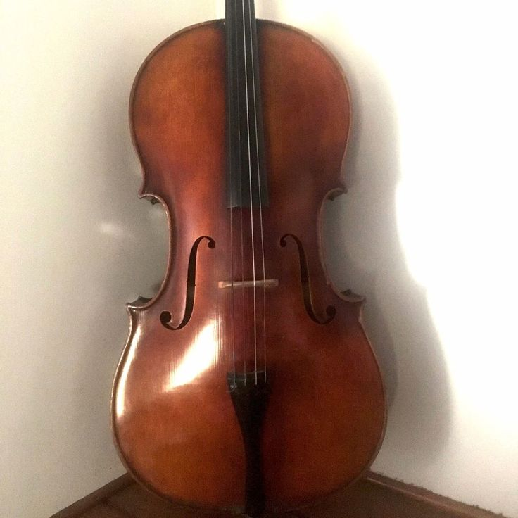 Jacobus Hornsteiner Antonio Stradivarius 4/4 Cello W/ case, new strings, rehair