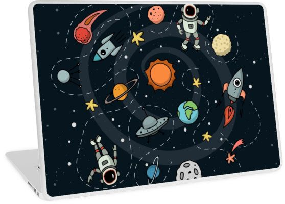 Outer Space Illustration by Gordon White | Laptop Skin Available @redbubble  --------------------------- #redbubble #sticker #laptopskin #macbook --------------------------- http://www.redbubble.com/people/big-bang-theory/works/22569162-outer-space-planetary-illustration?asc=u&p=laptop-skin&rel=carousel