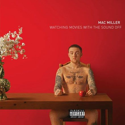Mac Miller - Watching Movies with the Sound Off Vinyl 2LP December 16 2016 Pre-order
