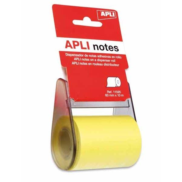 Comprar Notas Adhesivas en Rollo 60mm x 10 m Apli 11595 #oficina #tienda #notas #indices #adhesivas #colores #rollo #bloc #taco