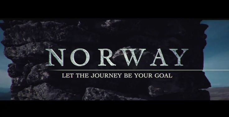 NORWAY Let The Journey Be Your Goal #Travel #Europe #Documentary by Pasquale Baseotto (Belgium)