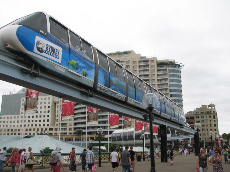 Mono Rail - Darling Harbour Sydney