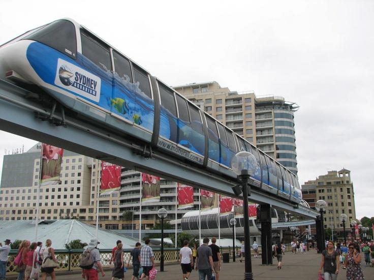 Mono Rail - Darling Harbour Sydney