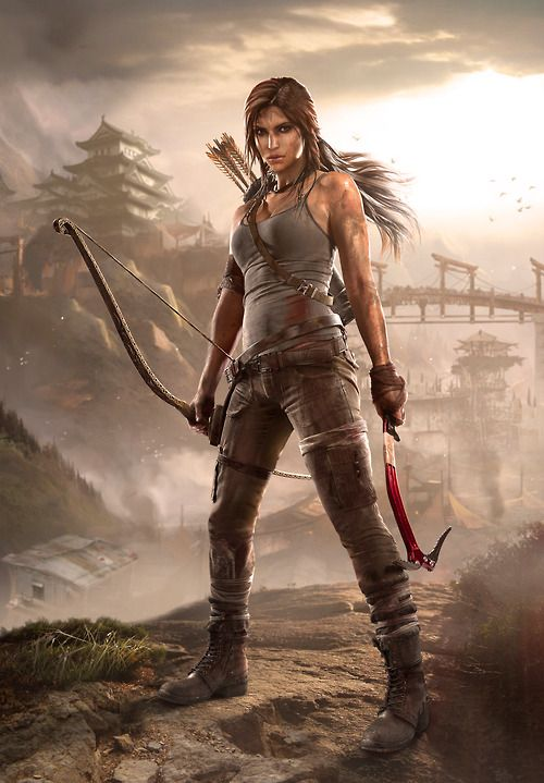 tombraider:  Tomb Raider Concept Art: Summit  Tomb Raider Art