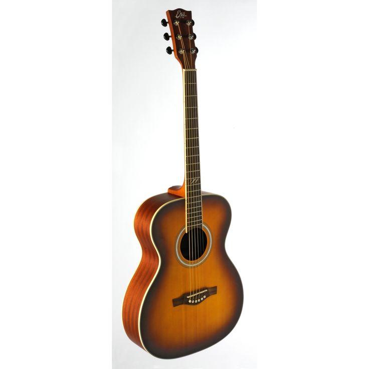 Eko Guitars 06217105 TRI Series Honeyburst Auditorium Acoustic Guitar