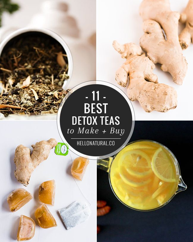 11 Best Detox Teas to Make + Buy | HelloNatural.co