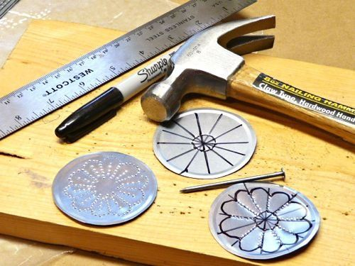 How To Make Jewelry Or Decorations Out Of Tin Can Lids