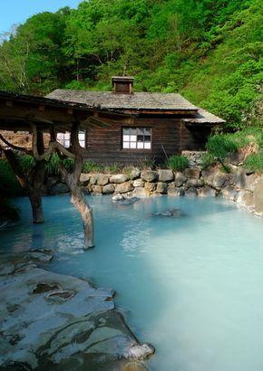 !感動温泉! 乳頭温泉「鶴の湯旅館」 Onsen-Hot Spring
