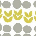 Bella – Circles and Leaves – Grey Citron