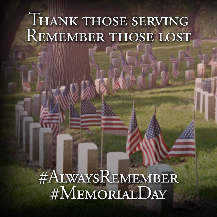 memorial day is celebrated for