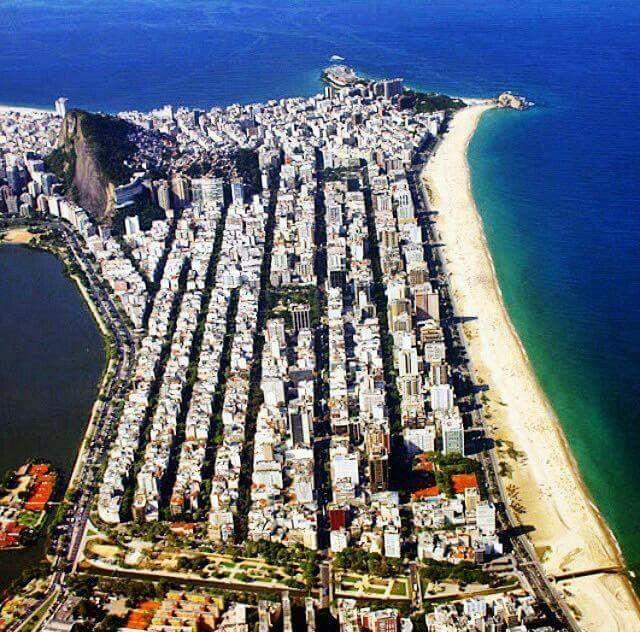 Where Copacabana ends and Ipanema begins  - Rio de Janeiro - Brasil