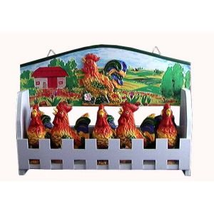 142 best images about rooster kitchen decor on pinterest for Chicken kitchen decorating ideas