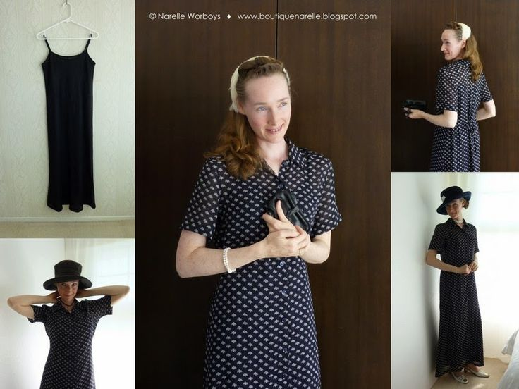 Modest Clothing: try on and buy at NZ event. Garden Party navy floral print long dress with matching chemise. http://boutiquenarelle.blogspot.co.nz/2014/10/modest-clothing-try-on-and-buy-at-nz.html