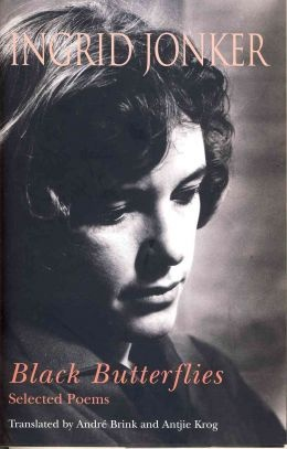 Cover of the Brink and Krog collection of translations of a selection of Ingrid Jonker's poems published in 2007