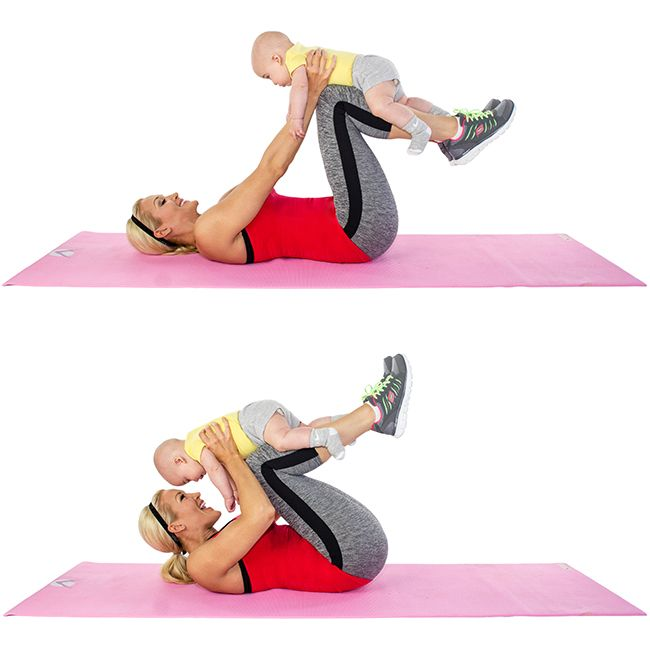 Use+Your+Baby+to+Lose+Your+Baby+Weight:+18+Moves+For+Mom+&+Baby