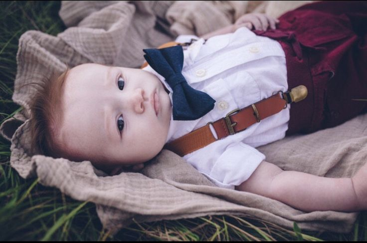 Navy Bow Tie and Leather Suspenders, Ring Bearer Outfit, Toddler Bow Tie Suspenders Set, Boys Suspenders Bow Tie Set, Navy Wedding Outfit, cake smash outfit, newborn photos, infant photography, little boy clothes, baby boy clothes, baby shower gift, 1st b https://presentbaby.com