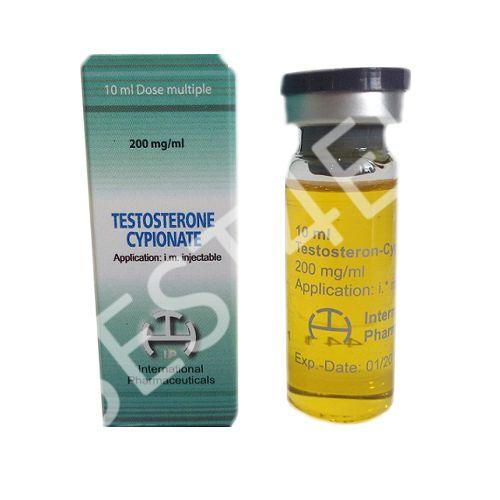 Buy Testosterone Cypionate 200mg/ml. (10 ml.) INTERNATIONAL PHARMA