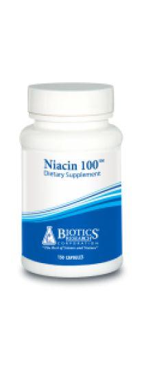 Niacin 100 - Cardio-protective/Thyroid Hypofunction