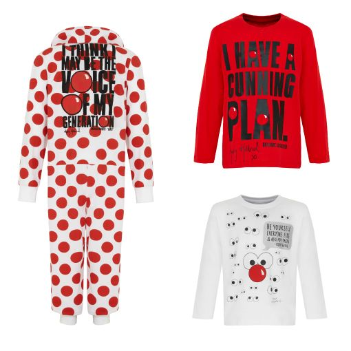Red Nose Day 2015 t shirts - Limited Edition from TK Maxx click for more info.