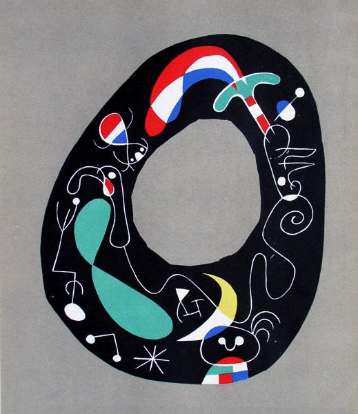 Joan Miró - Surrealism & Abstraction - 1956: Lithographs for Jacques Prevert's