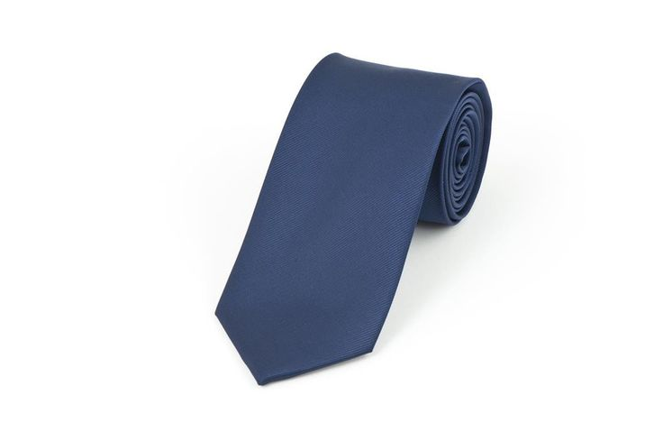 Navy Self Stripe Necktie