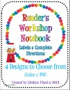 Reader's Workshop Notebook {Using a Composition Notebook} product from Mrs-Floods-Friends on TeachersNotebook.com