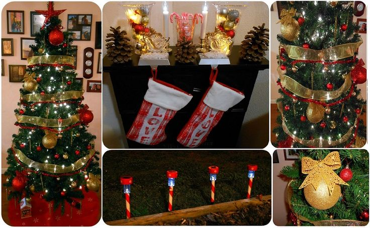 Dollar Tree Home Decor Ideas Plus Christmas Mantel