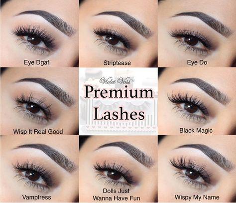751cf937363 Violet Voss 3D Faux Mink Lashes – Violet Voss Cosmetics   Beauty & Skincare    Lashes, Eyelashes, Mink eyelash extensions